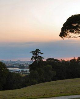 Le parc Palmer à Cenon, près de Bordeaux