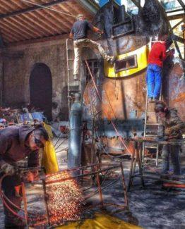 L'atelier de Jean François Buisson à Bordeaux