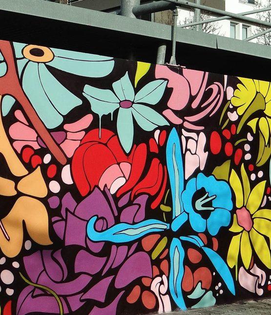 Street art : le MUR de Bordeaux aux Chartrons