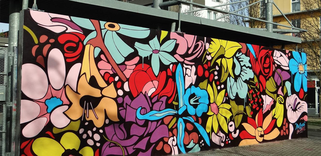 le m u r street art de bordeaux aux chartrons la belle. Black Bedroom Furniture Sets. Home Design Ideas