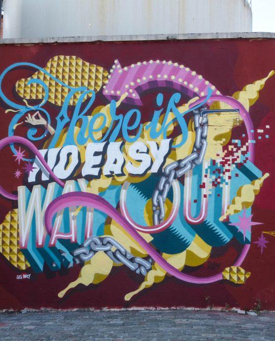 Street Art des Bassins à Flot de Bordeaux