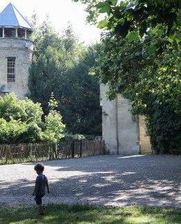 Le parc rivière à Bordeaux